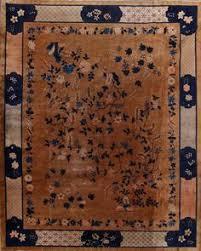 antique 9x11 art deco nichols chinese oriental area rug dreamy