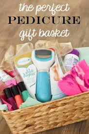 Gift Baskets For Couples For Christmas Pedicure Gift Basket Idea Honeybear Lane
