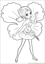 coloring barbie thumbelina 020 coloring free barbie