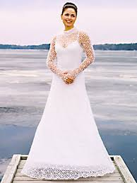 wedding dress pattern needful yarns crochet wedding gown pattern 194 at weaver