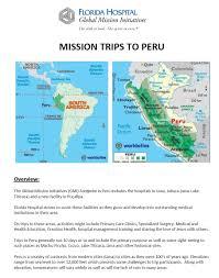 Lake Titicaca Map 2017 February Peru Mission Trip Florida Hospital Global Mission