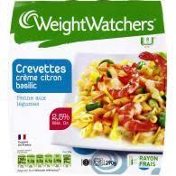 plat cuisiné weight watchers plat cuisiné crevettes citron basilic weight watchers