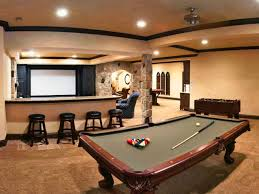 basement game room home design