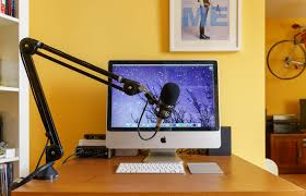 Computer Desk Microphone The Rode Psa 1 Boom Arm Tools And Toys