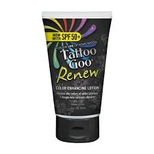tattoo goo aftercare lotion review tattoo goo renew with spf 50 plus i tattoo aftercare goo i magnum
