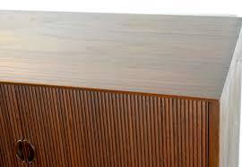 Tambour Door Cabinet Hvidt Teak Tambour Door Cabinet