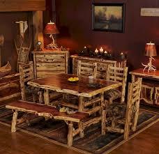 Teepee Dining Table Aromatic Cedar Log Dining Table Juniper Tables Cedar