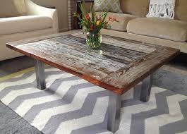 chunky wood table legs coffee tables ideas awesome wood coffee table with metal legs wood