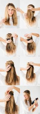front poof hairstyles summer hairstyles you can create in 5 minutes