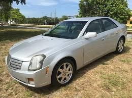 cadillac cts 2003 for sale 2003 cadillac cts base 4dr sedan in fl trans