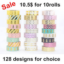 Washi Tape Designs by Washi Tape Promotion Shop For Promotional Washi Tape On Aliexpress Com