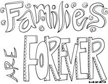 families are forever tons of quote coloring pages tons of