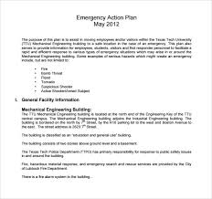 sample employee action plan 9 documents in pdfemergency action