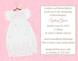 Example Of Baptismal Invitation Card Baptism Invitation Thebridgesummit Co