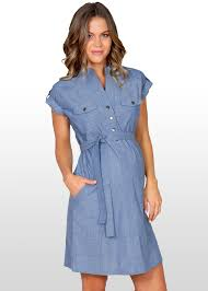 maternity clothes nz blue chambray maternity dress t009e 4x rock your bump