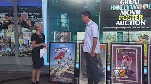 hollywood theater auctioning off classic movie posters cbs