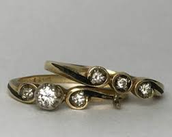 the story wedding band vintage diamond engagement ring vintage wedding band story