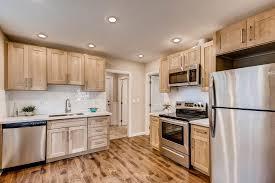kitchen with light maple cabinets maple shaker pius kitchen bath
