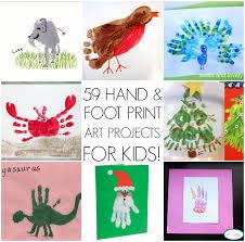 Holiday Craft Ideas For Children - handprint art ideas
