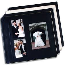 photo album inserts leather wedding album futura image cut out cover