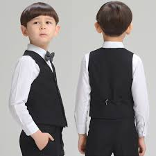 aliexpress com buy kids formal vest england style black