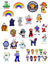 rainbow brite mike u0027s hoppy helpers designs