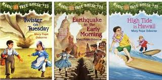 Magic Treehouse - natural disasters magic tree house book club mr ken the librarian