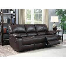 modern leather sectional sofa with recliners tags sectional