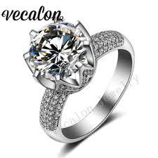 Crown Wedding Rings by Online Get Cheap Crown Set Wedding Ring Aliexpress Com Alibaba