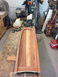 journey of a wood butcher when the glue is set the side rails get chamfered on the inside and the thickness will be zero at the tail the nose block gets lots of shaping on the