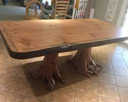 Slab Table Etsy by Large Stump Table Etsy