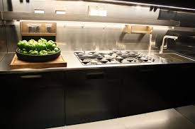Cutting Board Kitchen Countertop - stainless steel countertops wooden spices rack japanese style