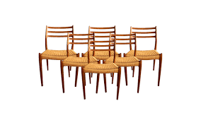 viyet designer furniture seating niels otto møller model 78