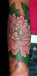 Big Flower Tattoos On - 25 beautiful peony flower tattoos