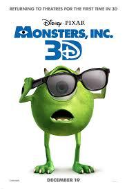 review monsters university monsters 3d sneak peek