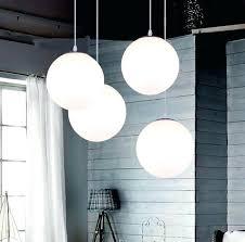 Glass Sphere Pendant Light Ball Pendant Lighting Led Lighting Modern Brief Lighting Lamps
