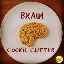 anatomical brain cookie cutter heart cookies cutters
