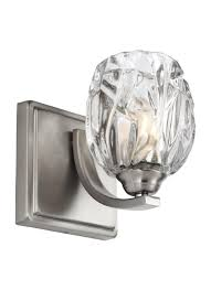 Murray Feiss Wall Sconce Vs22701sn 1 Light Wall Sconce Satin Nickel