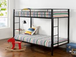 Metal Bunk Beds Twin Over Twin by Zinus Easy Assembly Quick Lock Twin Over Twin Classic Metal Bunk