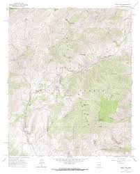 Reno Map Reno Pass Topographic Map Az Usgs Topo Quad 33111h4