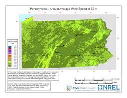 Pennsylvania vegetaion images Windexchange pennsylvania 30 meter residential scale wind jpg
