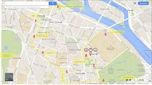 Notre Dame Campus Map The Latinn Quarter