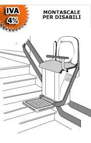 sedie per disabili per scendere scale scale per disabili e handicap iva 4