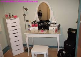 white makeup vanity table furniture cool white makeup vanity table set with chest of drawers