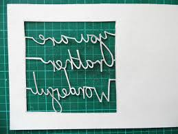 paper cutting fundamentals how to cut tricky letters
