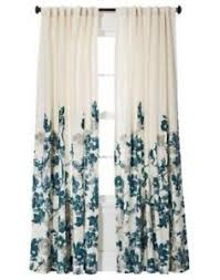 Teal And White Curtains Teal Curtains Ebay
