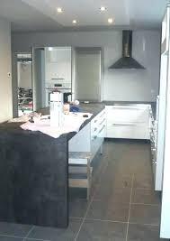 cuisine blanc laqué plan travail bois cuisine laquee blanche cuisine en sol e he plan travail cuisine