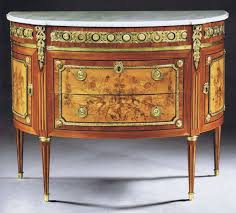 a louis xvi demi lune commode by charles topino ref 64672