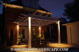 Patio Lighting Outdoor Landscape Patio Lighting Michigan Outdoor Lighting Company