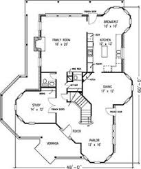 Victorian Home Floor Plan Two Story House Plan C2079 ѧ ʀ C н Pinterest Story